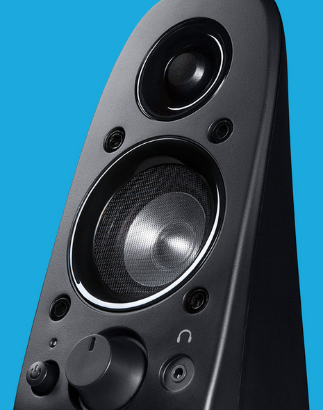 logitech surround sound speakers z506 how to connect to tv