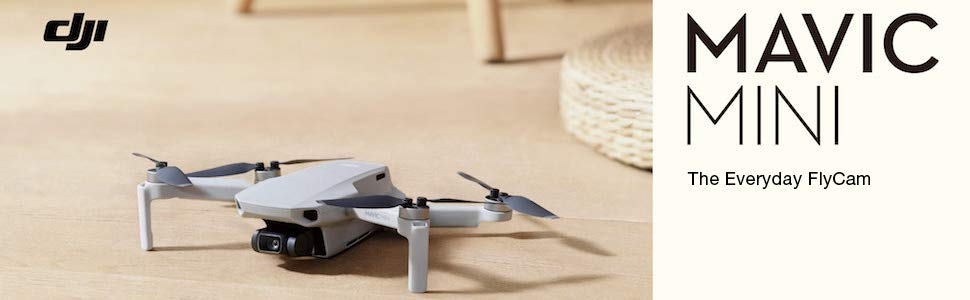 DJI Mavic Mini, Ultralight and Portable Drone, 30 Min. Flight Time, 4 Km HD Video Transmission