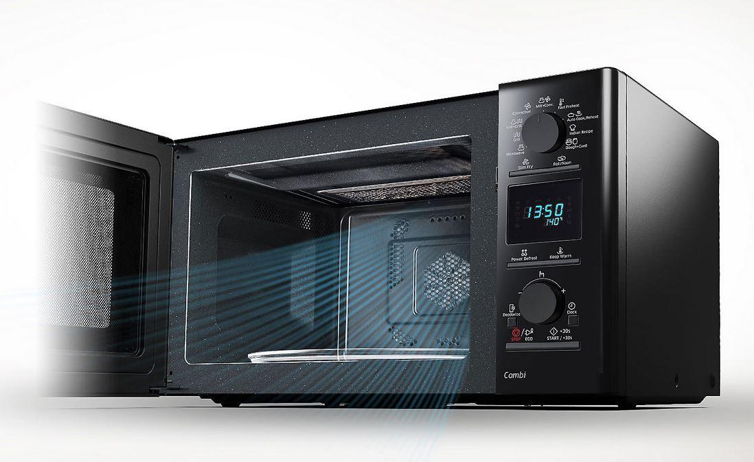 Samsung 28 L Convection Microwave Oven Mc28h5025vk Black