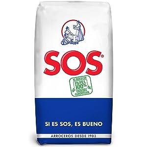 SOS Arroz Redondo - 1 kg: Amazon.es: Alimentación y bebidas