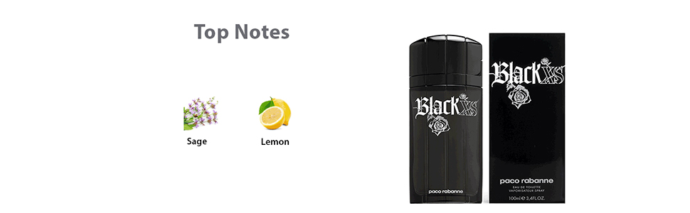Black XS Cologne by Paco Rabanne for men Colognes