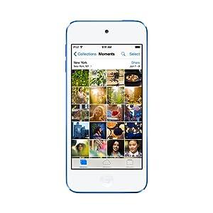 iPod touchは、4インチのRetinaディスプレイ。