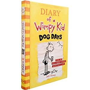 Diary of A Wimpy Kid Dog Days by Jeff Kinney