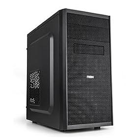 Nox NXCBAYMX - Caja de ordenador torre Micro ATX, color negro ...