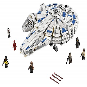 LEGO Kessel Run Millennium Falcon Star Wars Spacecraft Building Blocks