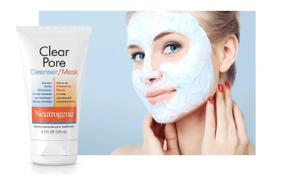 Neutrogena Clear Pore Cleanser mark