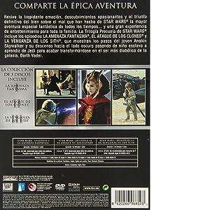 Star Wars Trilogia Ep I-Iii [DVD]: Amazon.es: Ewan McGregor, Liam Neeson, Natalie Portman, Hayden Christensen, George Lucas, Ewan McGregor, Liam Neeson: Cine y Series TV