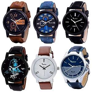 watch, mens watch, analog watch combo, analog watch for men, watch combo for men