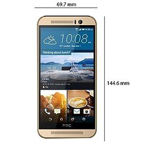 HTC One M9 - 32GB, 4G LTE, Gold
