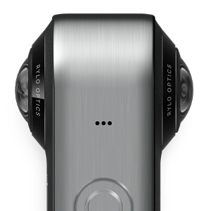 Rylo 360 Video Camera - (iPhone + Android) - Breakthrough Stabilization, 5.8K Recording, Includes 16GB SD Card Everyday Case 24