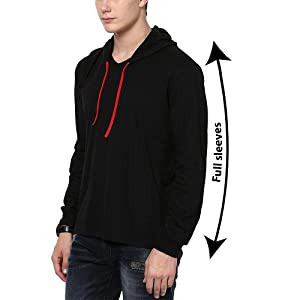 Men's Sweatshirts & Hoodies, Katso-Hood-Full, Katso Men's Cotton T-Shir