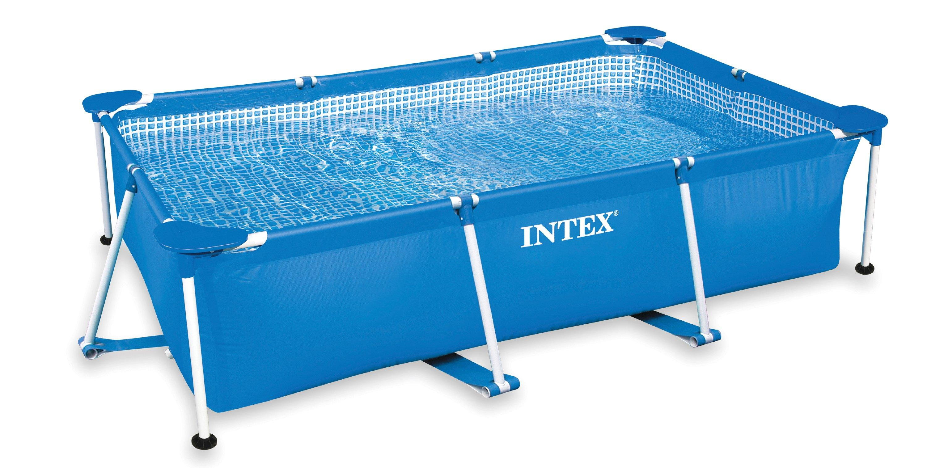 intex piscina frame rettangolare 300x200x75 cm amazon