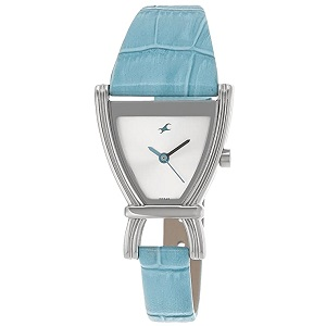 Fastrack Fits & Forms Analog Silver Dial Women's Watch