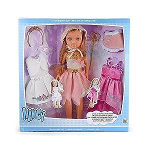 Amazon.es: Nancy - Kit de Tres Vestidos de Cuento con muñeca ...