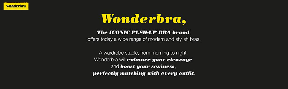 Wonderbra Womens Push up Bra in