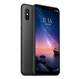 Xiaomi Redmi Note 6 Pro 32GB 3GB RAM Dual SIM Global Black: Amazon ...