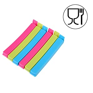 Plastic Food Snack Bag Pouch Clip Sealer