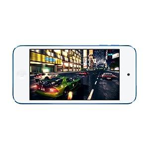 iPod touchならゲームでもパワーとスピードを体感。