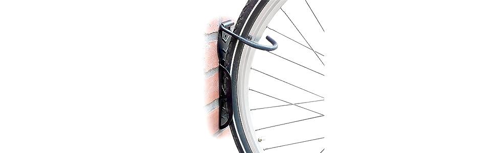 Set de 2 soportes de pared para bicicleta - Soporta hasta 25 kg ...