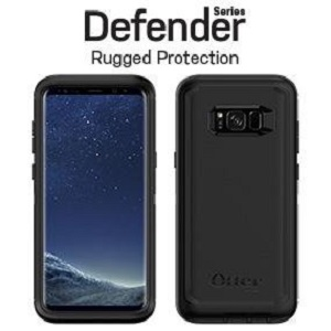new concept 4b109 de378 OtterBox Defender Series SCREENLESS Edition for Samsung Galaxy S8+ -  Frustration Free Packaging - Black