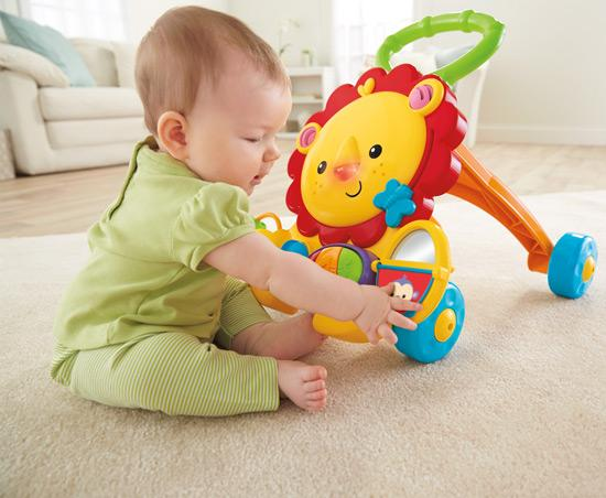 Buy Fisher-Price Musical Walker Lion Online at Low Prices ...
