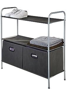 AmazonBasics - Organizador de armario con cestos