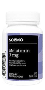 Solimo Melatonin 3mg Tablets