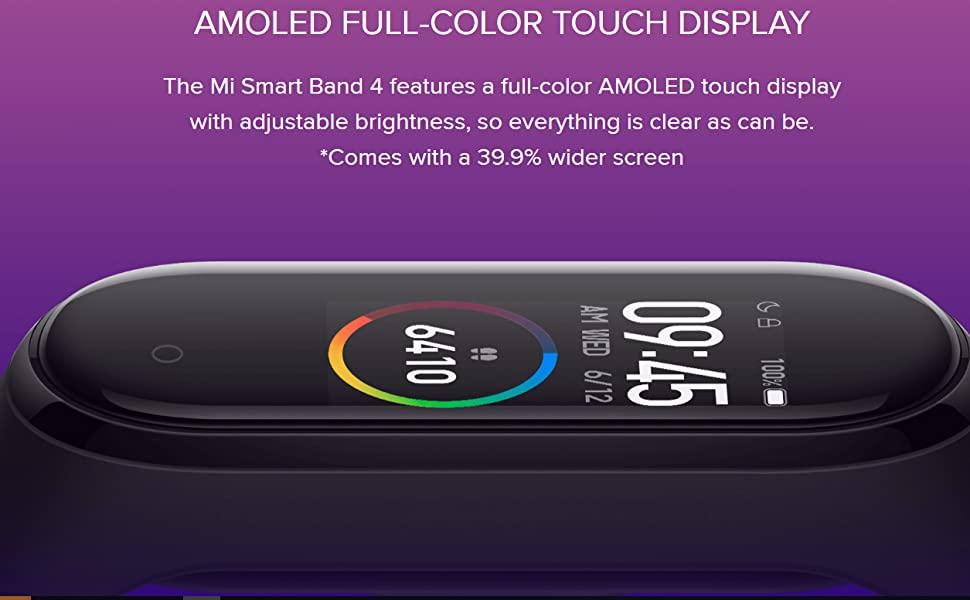 Xiaomi Mi Band 4 Smart Bluetooth Fitness Bracelet Global Version