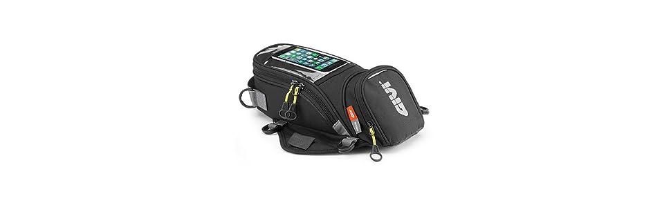 Negro Carga M/áxima 2 Kg Volumen 6 litros Givi EA106B Easy Bag Bolso Magn/ético Dep/ósito