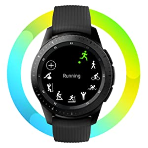 Samsung Galaxy Watch SM-R800, Reloj inteligente con SAMOLED GPS ...