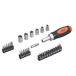 Black+Decker 108 Pieces Hand Tool Kit