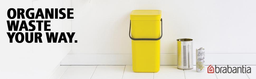 recycle, recycling, recycling bin, built in bin, kitchen, bin, waste, food caddy, brabantia