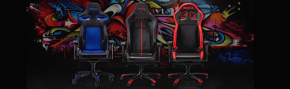 Mejora tu experiencia de juego con sillas Sparco gaming