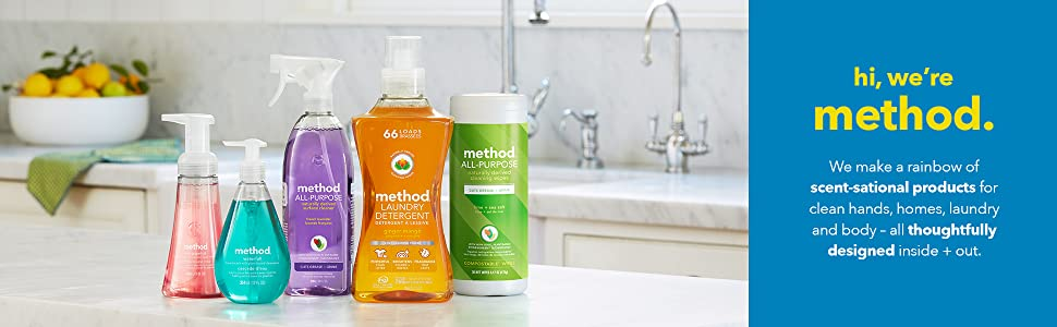 method cleaning supplies, cleaning supplies