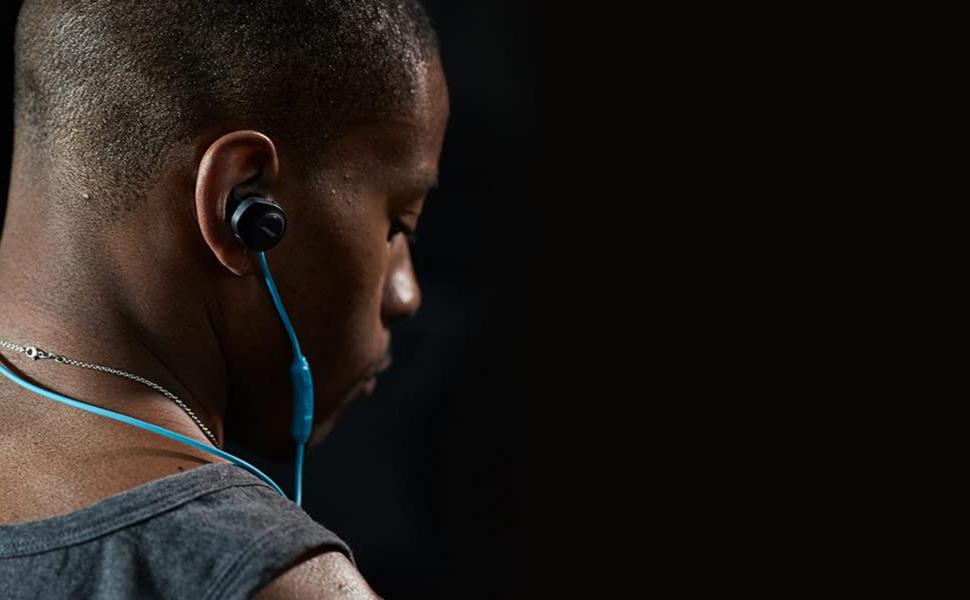 Bose Soundsport Wireless Headphones, 761529-0010, Black