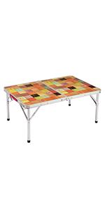 テーブル ナチュラルモザイクリビングテーブル 90プラス