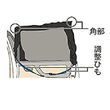 メルテック 虫除けウインドーネット 左右リアドア用 リバーシブル 高性能防虫加工タイプ W1100×H750mm(1枚入) WP-42
