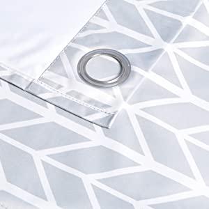 Amazonベーシック 遮光カーテンセット ハトメ付