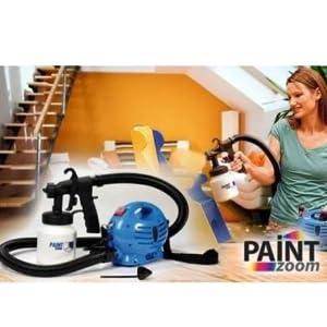 Paint Zoom CW-2005091009GM_Z1450 Plastic Electric Portable Spray Painting Machine Set