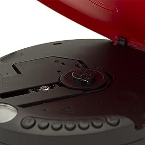 Discman ROADSTAR PCD-435NCD/RD Color Rojo: Amazon.es: Electrónica