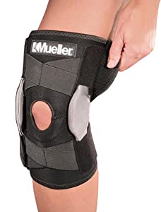24ce01156b Amazon.com: Mueller Sports Medicine Adjustable Hinged Knee Brace ...