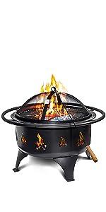 Oakridge Wood Fire Pit