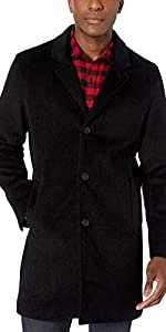 Stretch Wool Top Coat