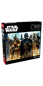He's All Yours, Bounty Hunter - 500 Piece Jigsaw Puzzle