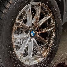 wash wheels clean foaming wheel cleaner rim mags brake dust road grime dirt remover tar OEM