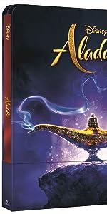 steelbook, aladdin, genio,