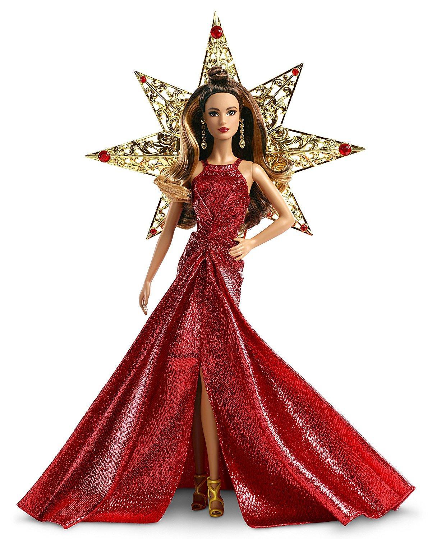 Barbie 2017 holiday teresa doll brunette toys games - Barbie de noel 2012 ...