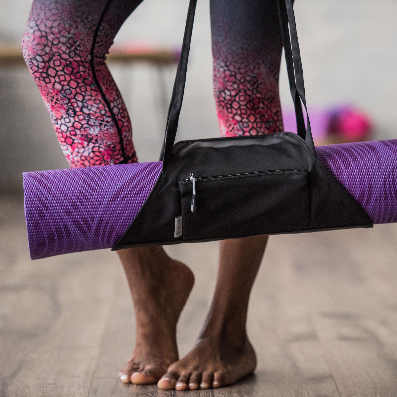 Amazon Com Gaiam On The Go Yoga Mat Carrier Citron