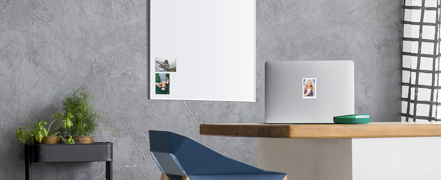 Kodak Smile Printer sticky-backed photos