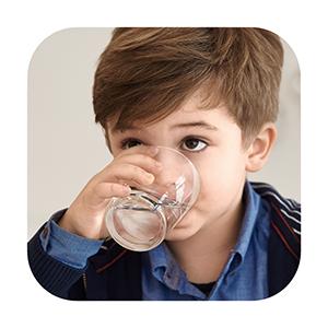 Agua de óptima sabor